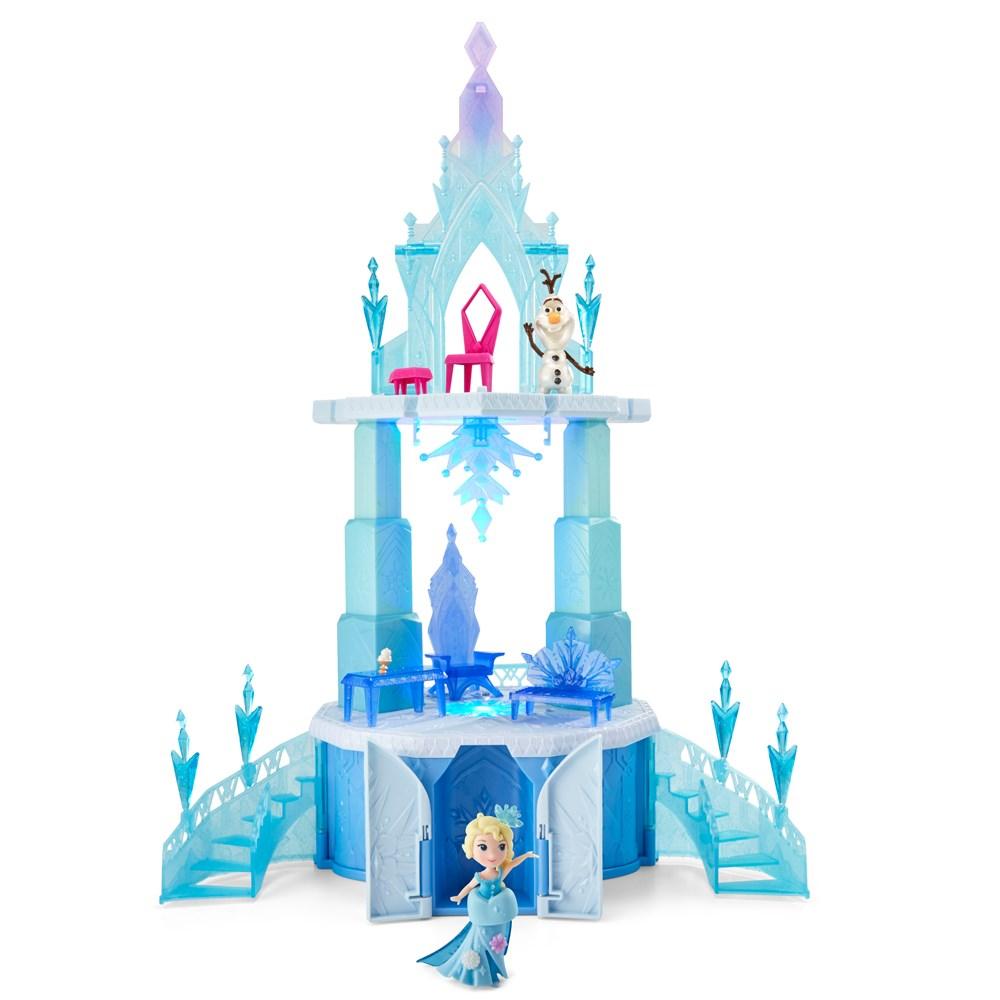 disney frozen little kingdom elsas magical rising castle - Blue Castle 2016