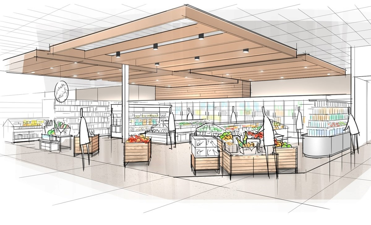 target reveals design elements of next generation of stores next generation target store design 5