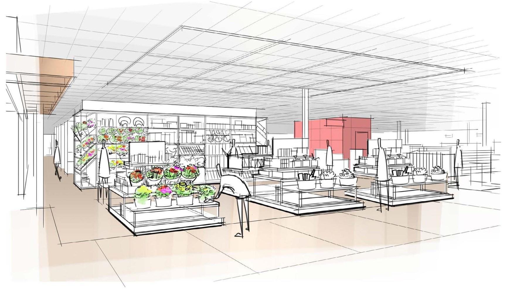 target reveals design elements of next generation of stores next generation target store design 6
