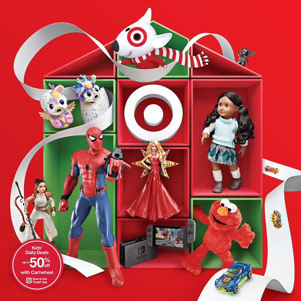Target Brings Joy to the Holiday Season