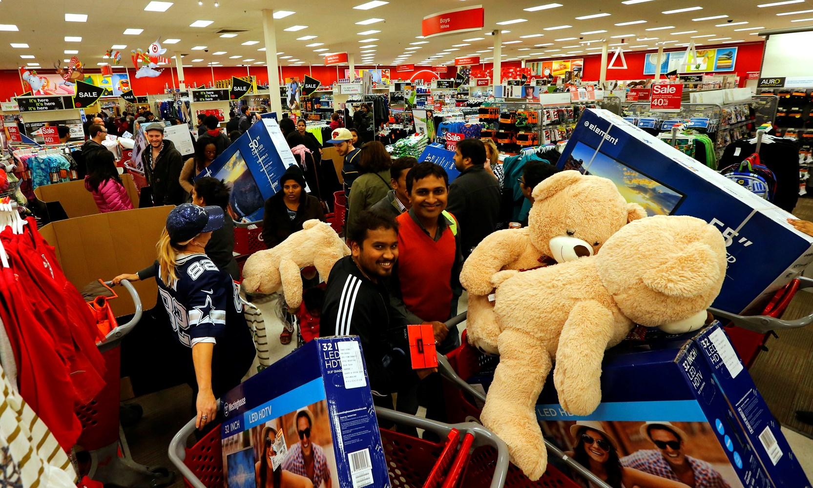Target Reveals Deep Black Friday Discounts