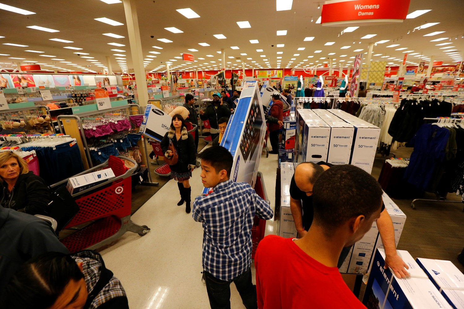 TVs are among the top doorbusters as guests shop Target's Black Friday deals