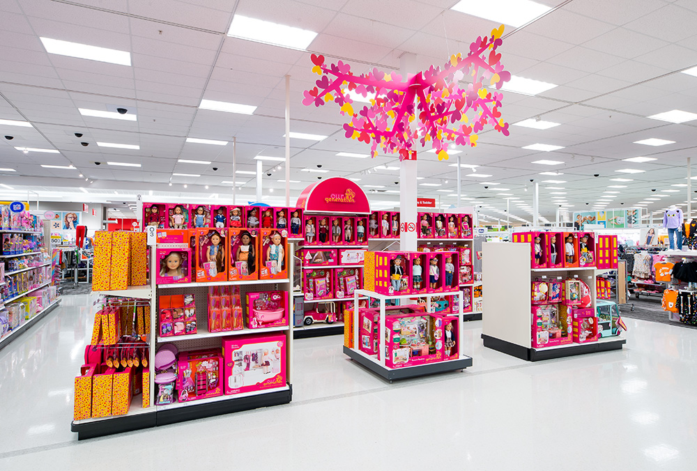 Toys From Target : Target reimagines toy experience for the holidays
