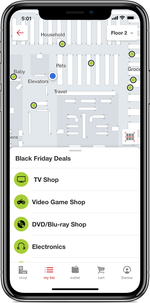 Target Black Friday Map Target Ushers in the Holidays with Reveal of Black Friday Deals