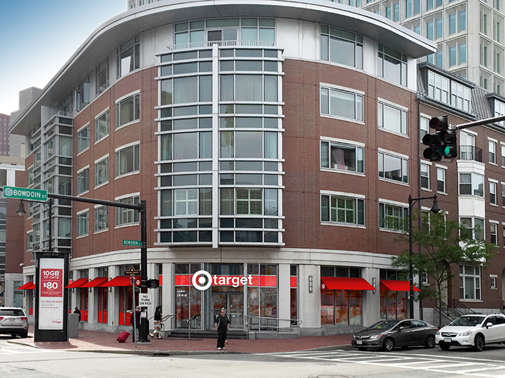 A rendering of Target's upcoming Beacon Hill store