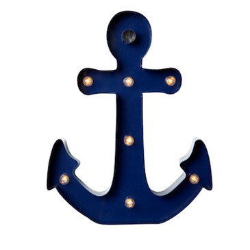 Anchor Marquee Light On