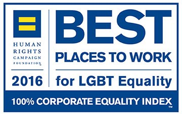 Human Rights Campaign: Best Places to Work logo