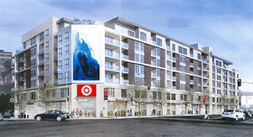 The exterior of Target's upcoming Koreatown store in Los Angeles
