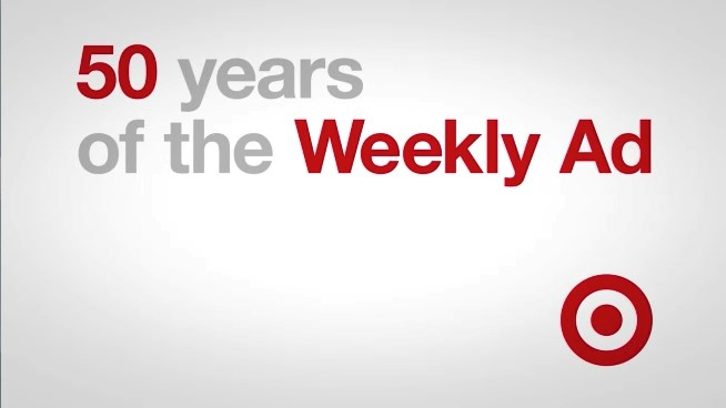 50 years of Target's Weekly Ad