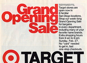 Target through the years 1983 target opens its first stores stopboris Choice Image