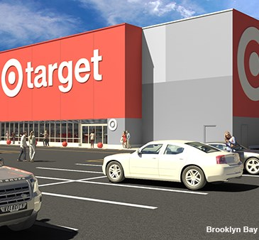 A rendering of the exterior of our upcoming Brooklyn Bay Parkway, NY, store