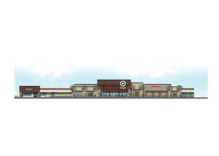 A rendering of the exterior of our upcoming Mission Viejo store