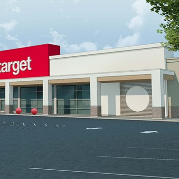 A rendering of the exterior of our upcoming Spring Valley store