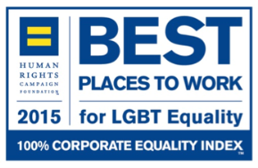 HRC 2015 Best Places to Work for LGBT Equality logo