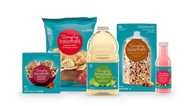 items from our Simply Balanced grocery brand, which includes more than 40 percent organic products