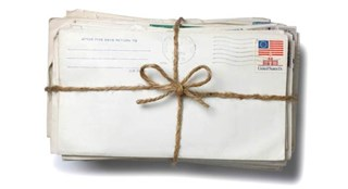 a package of letters
