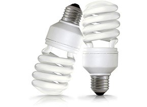 compact-fluorescent lightbulbs