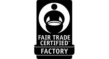 Fair Trade Factory black logo on white background