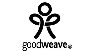 Black Goodweave logo on a white background