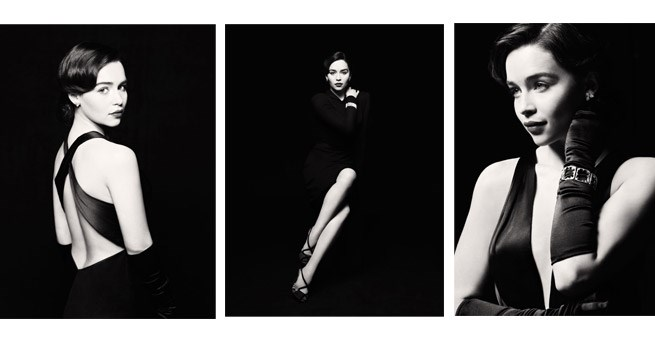 Images of Emilia Clarke as Holly Golightly