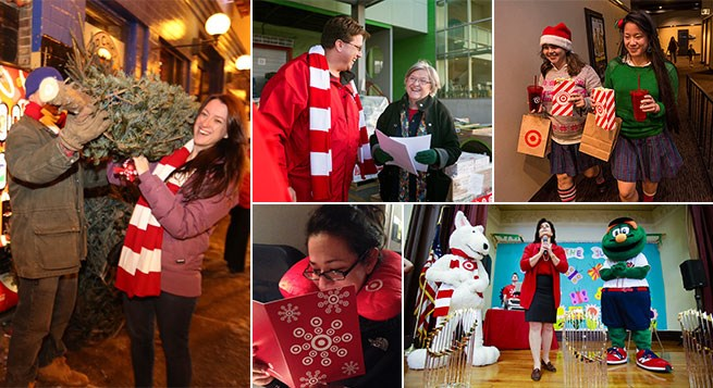 five Twitter inspired holiday giving events