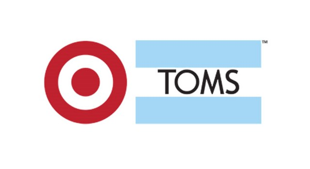 Target and TOMS logo