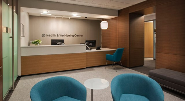 The interior of Target headquarter's Health & Well-being Center.