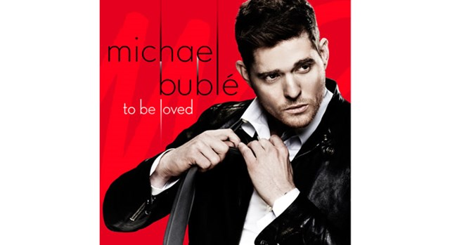 "The cover of Michael Buble's album ""To Be Loved"""