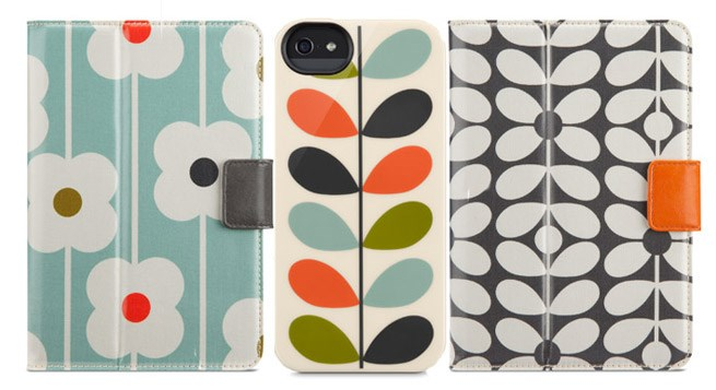 Orla Kiely brings fresh prints to Apple electronics ...