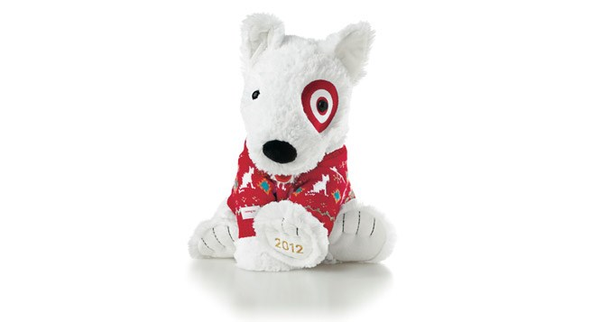 The 2012 St. Jude Plush Bullseye toy.