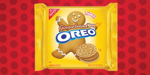 Gingerbread Oreos are now at Target!