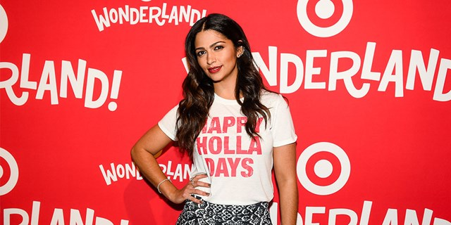 Camila Alves on Wonderland red carpet
