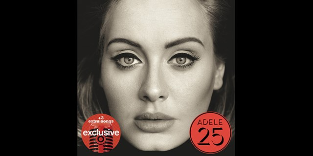 "Adele's new album ""25"" with extra Target-exclusive songs"