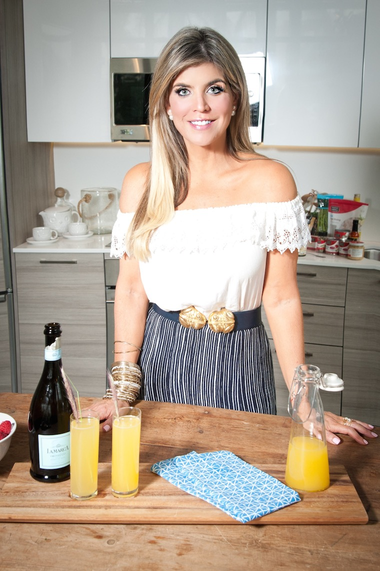 Ana Quincoces and the Mother's Day mimosas