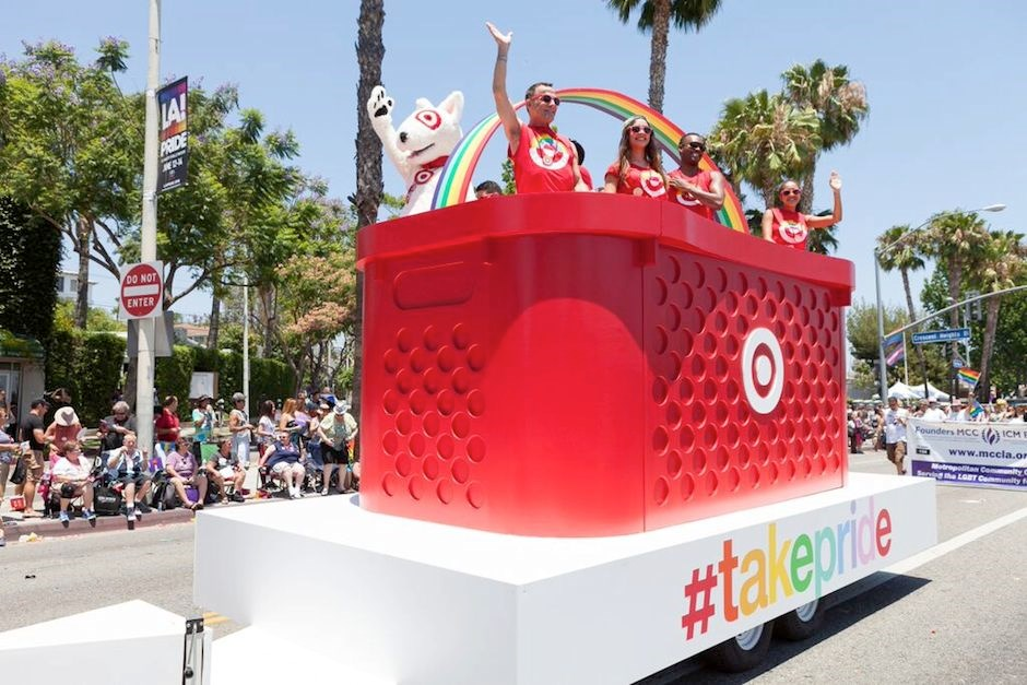 Bullseye at the LA Pride Parade