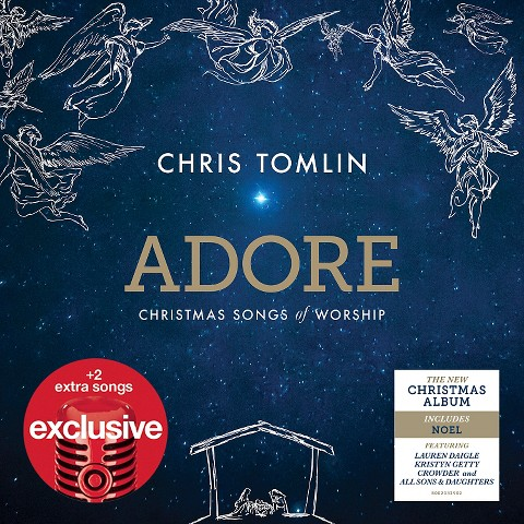 Chris Tomlin - Adore Christmas Songs of Worship - Target Exclusive