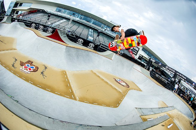 Big congrats to Target athlete Curren Caples for his gold medal win at the X Games in skateboard par