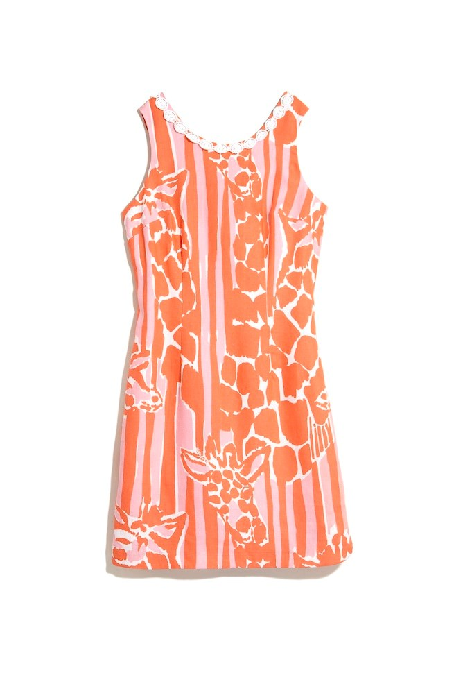 lilly pulitzer for target orange and white printed tank dress