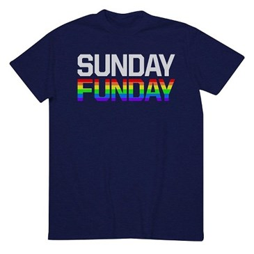 Men's Sunday Funday Pride T-Shirt