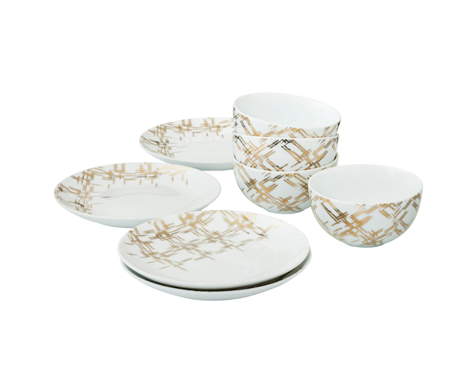 ... Nate Berkus Metallic Plaid Bowls and Metallic Plaid Dessert Plates  sc 1 st  Target Corporate & How to Entertain Like a Pro This Holiday Season: Nate Berkus Weighs In