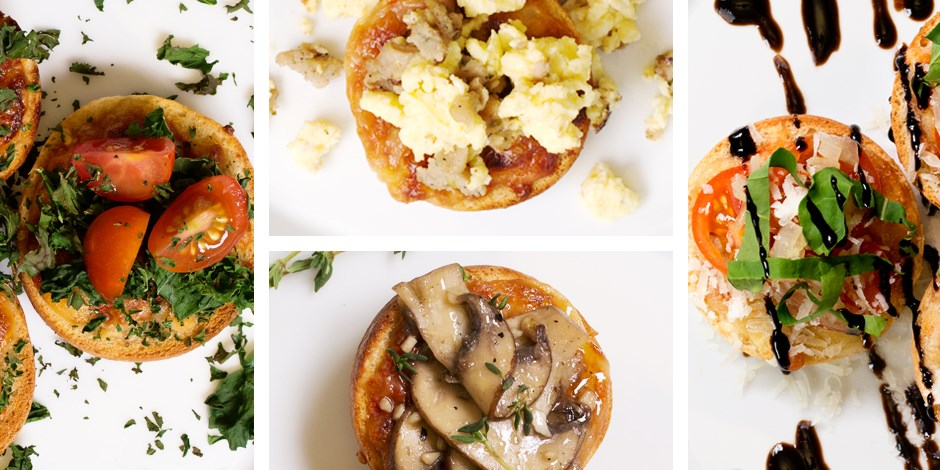 pizza bagels ain t just for kids amped up bites to try tonight