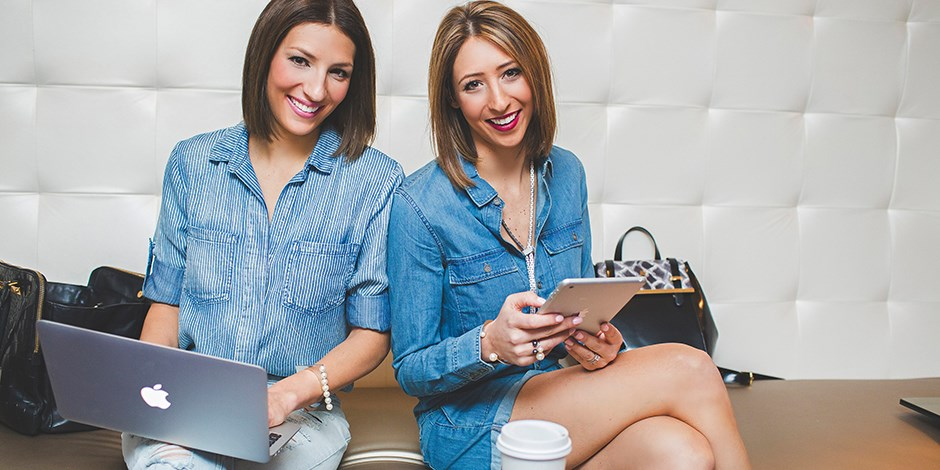 Ashley Jung and Paige Dellavalle of Stella Valle Jewelry