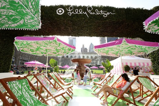 The Lilly Pulitzer for Target Pop-Up Shop Event in NYC