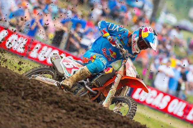 Ryan Dungey won at Muddy Creek
