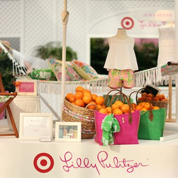 Lilly Pulitzer Launch Event Table