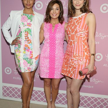 Lilly Pulitzer Launch Event with Camila Alves Dustee Jenkins and Emmy Rossum