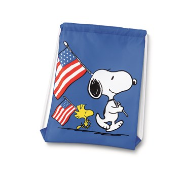Snoopy Drawstring Backpack