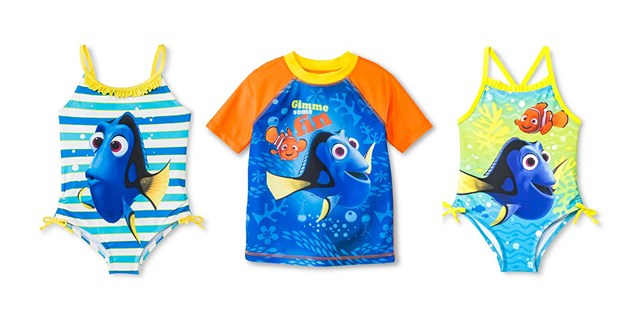 Finding Dory Swimsuits for Boys and Girls