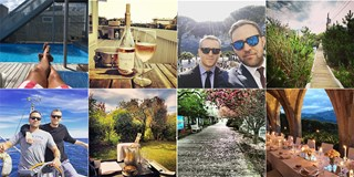 Various Summer Time pictures from Michael Carls Instagram account