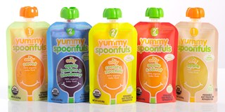 Various flavors of Yummy Spoonfuls product
